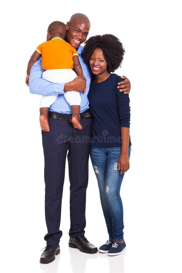 Bambino africano della famiglia fotografia stock