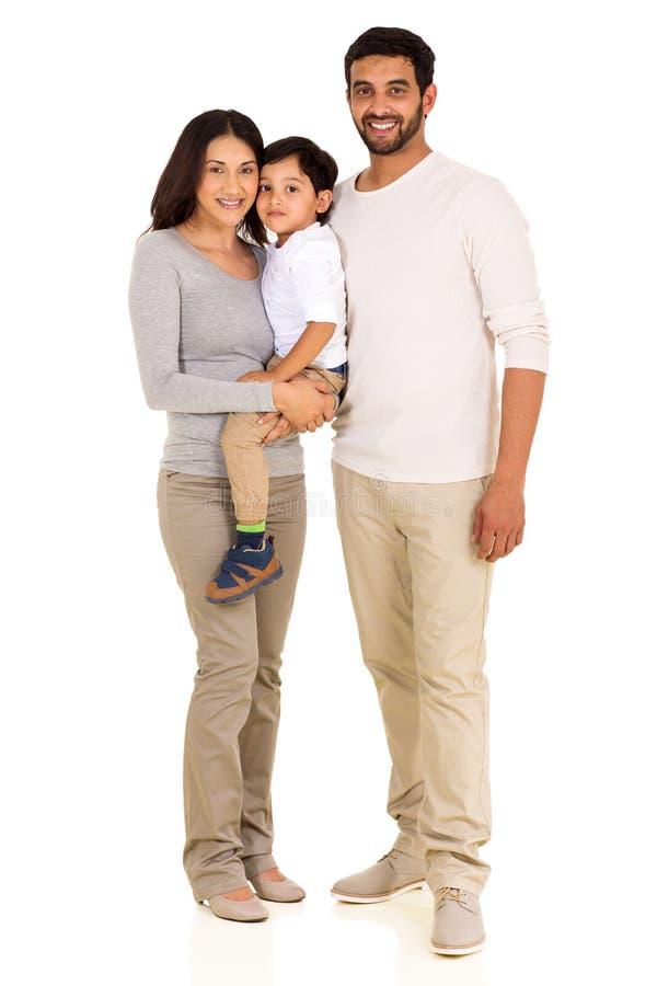 Giovane famiglia indiana fotografia stock