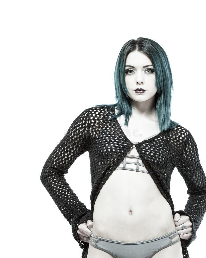 Download Giovane Femmina Irritabile In Bikini Immagine Stock - Immagine di inchiostrato, persona: 55355753