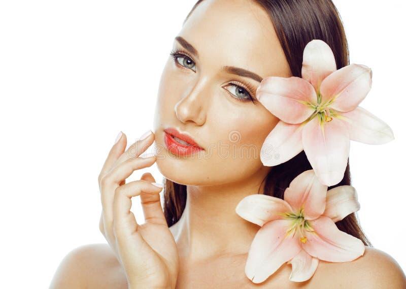 Giovane fine attraente di signora su con le mani sul fronte immagine stock immagine di ragazza - Le finestre di fronte ...