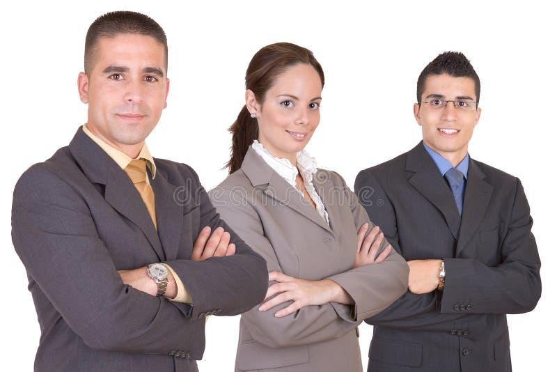 Giovane gente di affari - squadra di affari fotografia stock
