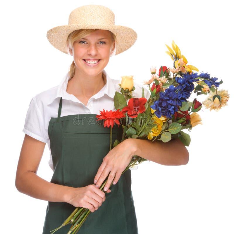 Giovane giardiniere immagini stock libere da diritti
