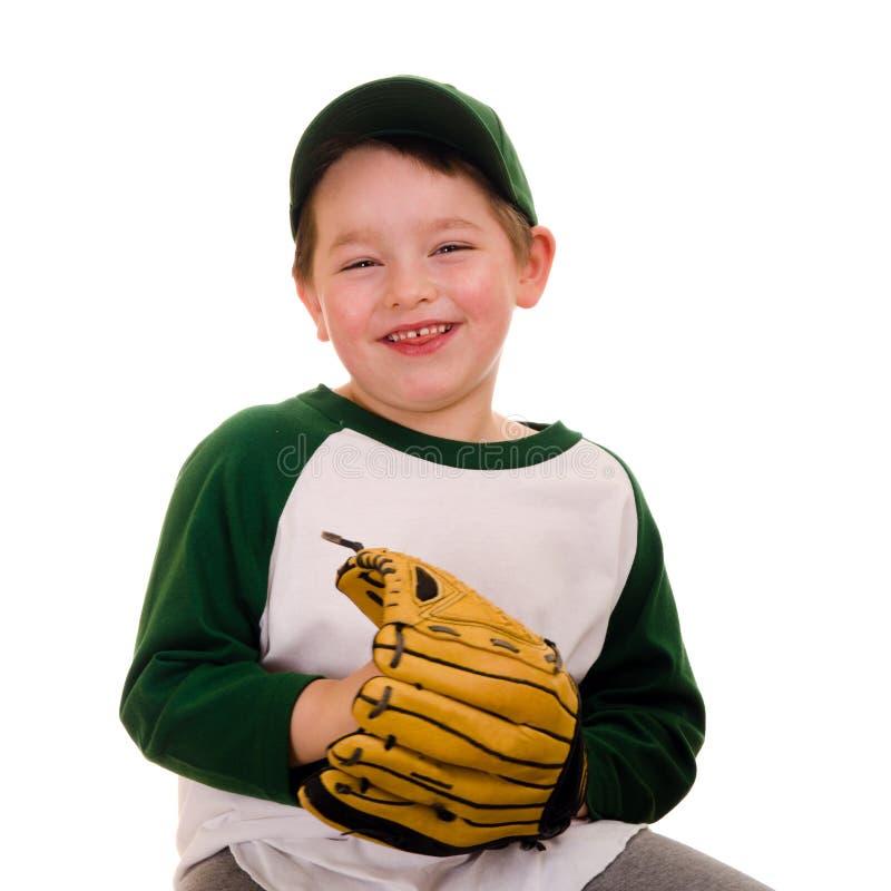 Giovane giocatore di baseball fotografie stock