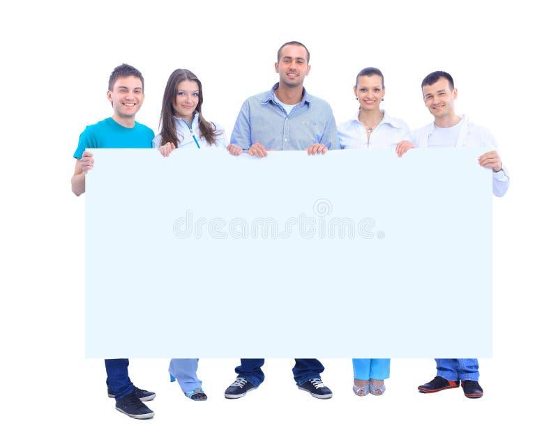 Giovane gruppo di persone felice fotografie stock libere da diritti