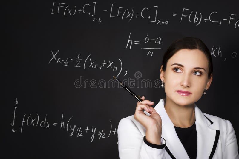 Giovane insegnante immagine stock libera da diritti