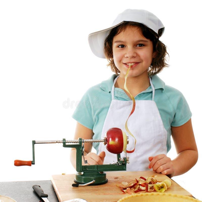 Giovane marinaio felice Girl fotografie stock libere da diritti