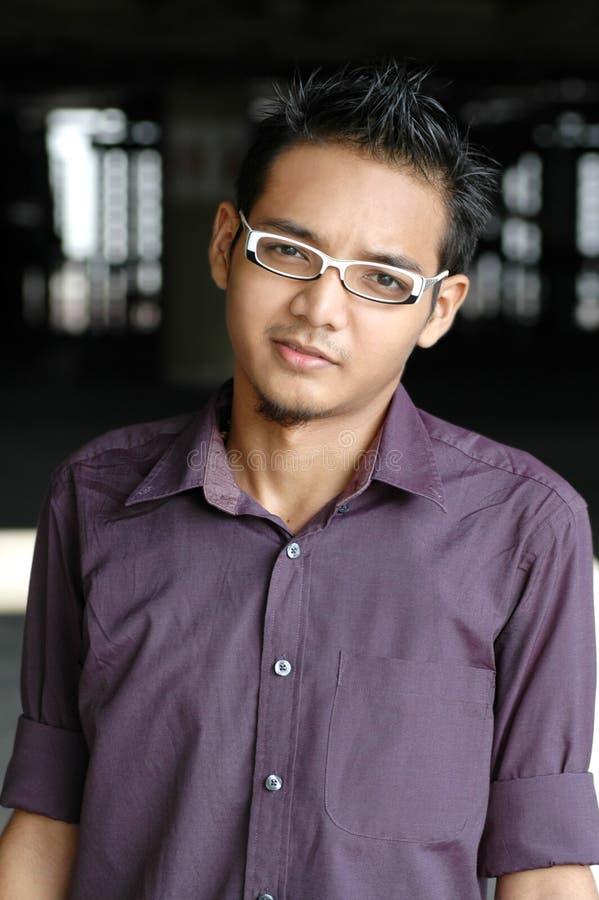 Giovane maschio asiatico fotografia stock libera da diritti