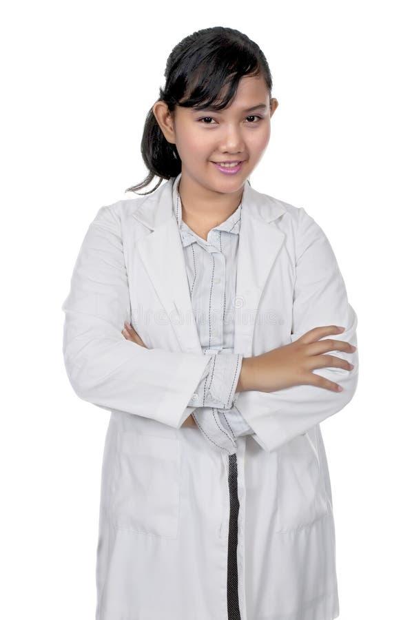 Giovane medico asiatico immagini stock libere da diritti