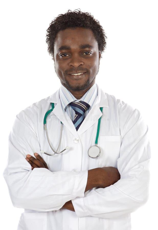 Giovane medico attraente immagini stock