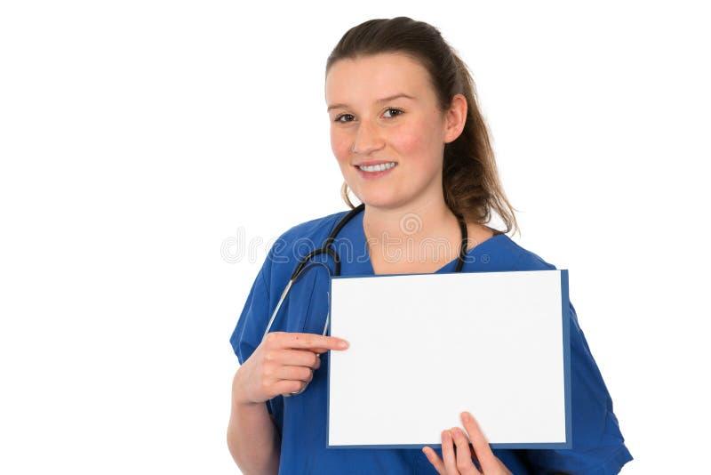 Giovane medico femminile fotografia stock