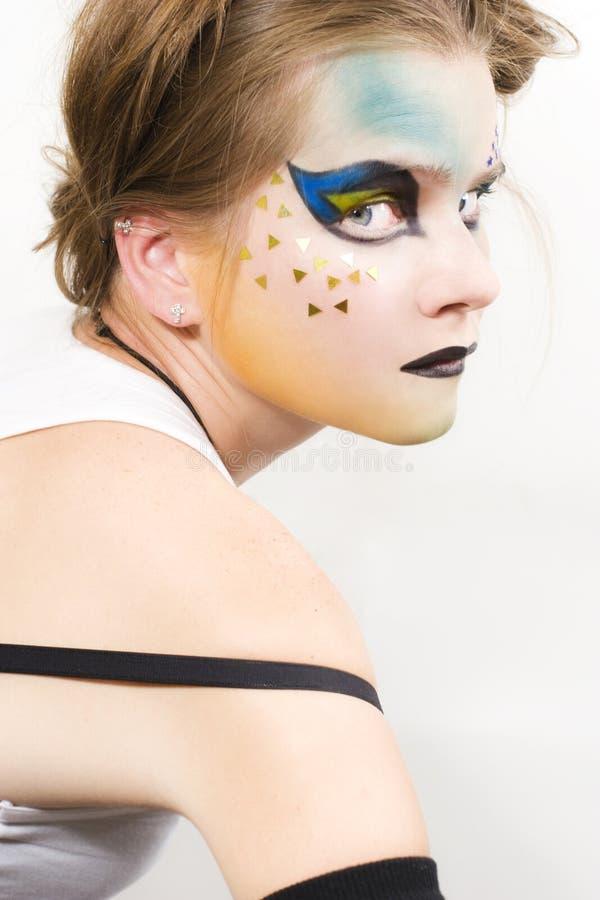 Giovane modello alla moda fotografie stock libere da diritti