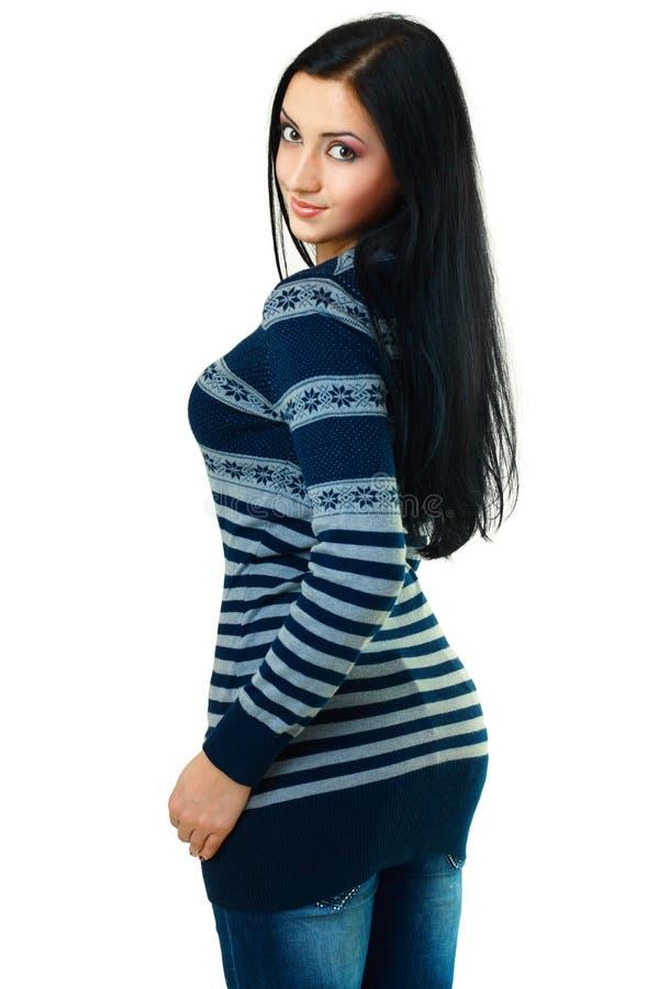 Giovane modello femminile fotografie stock libere da diritti