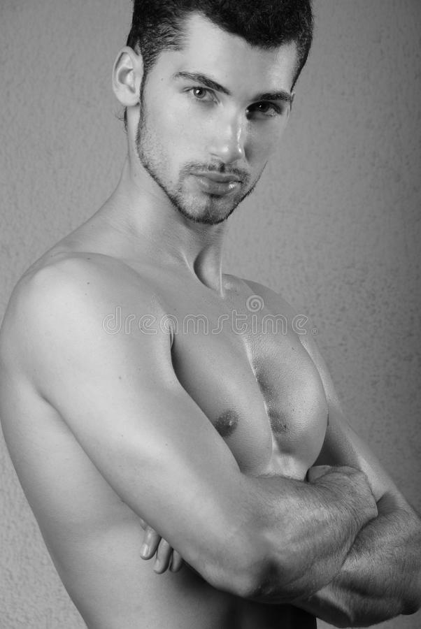 Giovane modello maschio immagine stock