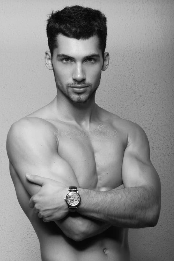 Giovane modello maschio fotografie stock
