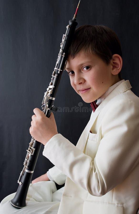 Giovane musicista fotografie stock libere da diritti
