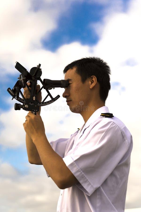 Giovane navigatore cinese immagini stock libere da diritti
