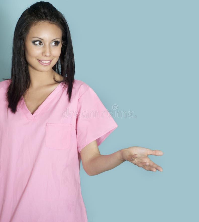 Giovane operaio attraente di sanità immagini stock libere da diritti