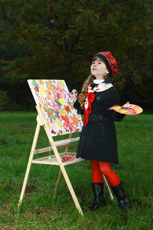Giovane pittore immagine stock libera da diritti