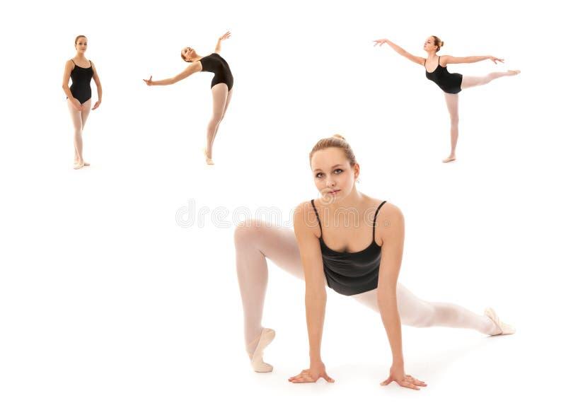 Giovane posa del ballerino di balletto fotografia stock libera da diritti