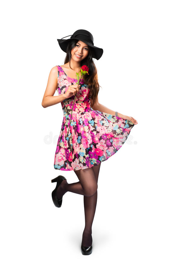 Giovane ragazza asiatica immagine stock