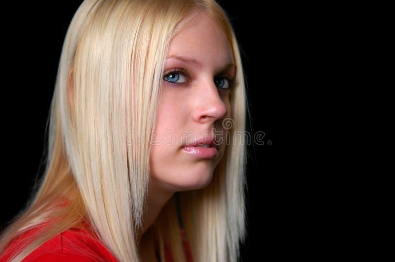 Giovane ragazza dai capelli bionda immagini stock libere da diritti