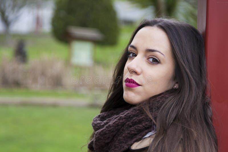 Giovane ragazza di Latina immagine stock