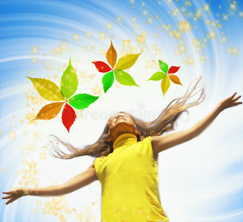 Download Giovane ragazza felice fotografia stock. Immagine di colorful - 3133610
