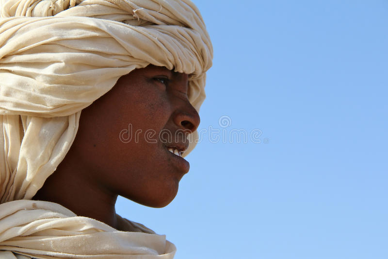 Giovane ragazzo in Africa fotografia stock