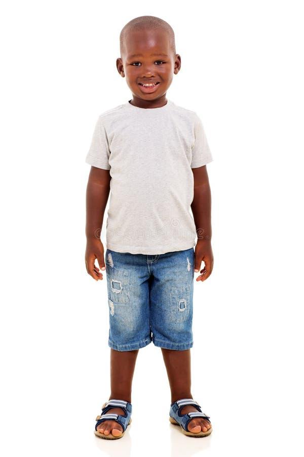 Giovane ragazzo africano fotografie stock