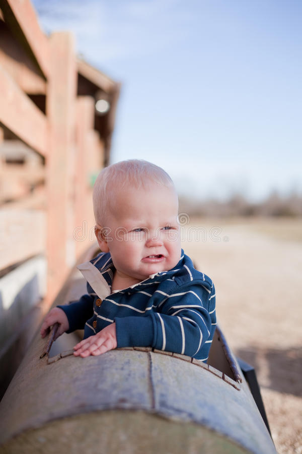 Giovane ragazzo allegro fotografia stock libera da diritti