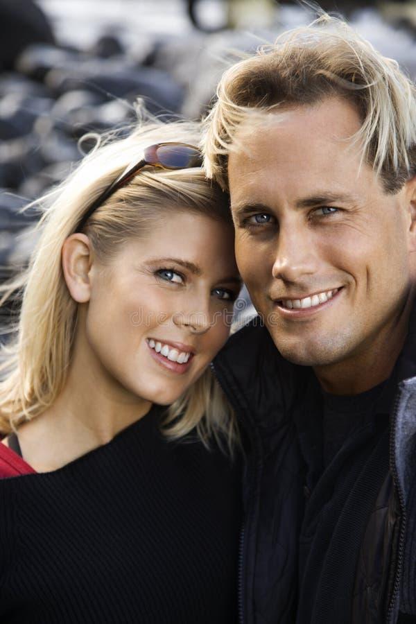 Giovane ritratto delle coppie. fotografia stock