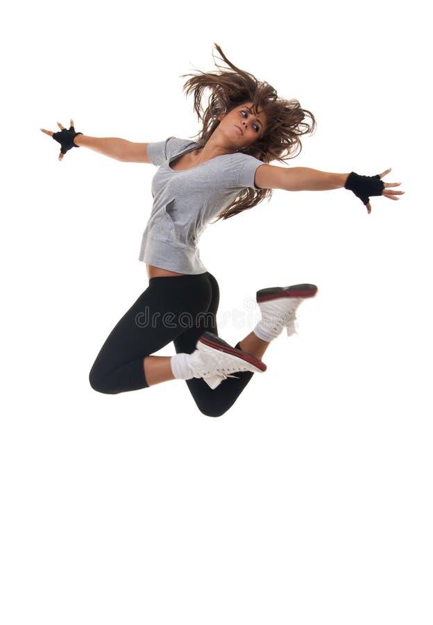 Giovane salto del danzatore fotografia stock libera da diritti