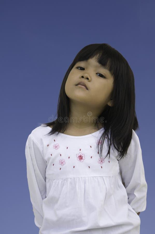Giovane signora asiatica immagine stock