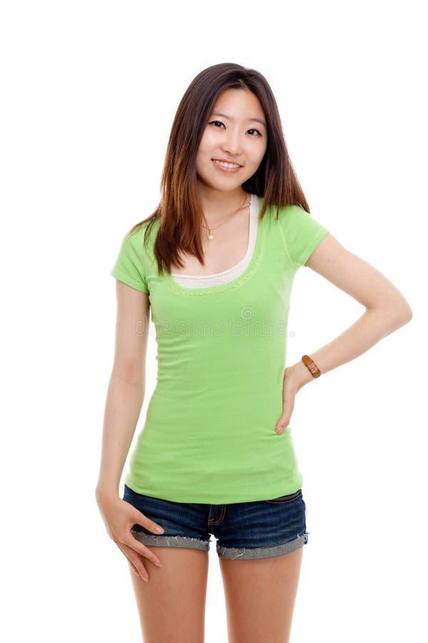 Giovane signora asiatica. immagini stock libere da diritti