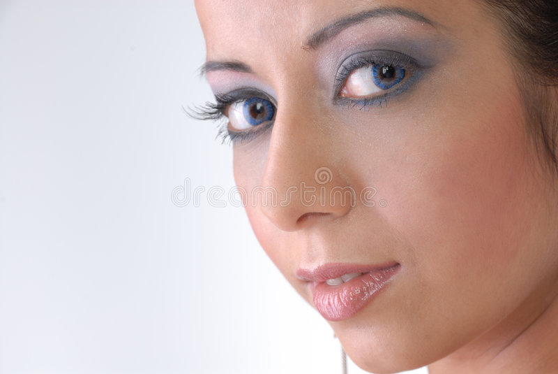 Giovane signora attraente immagine stock