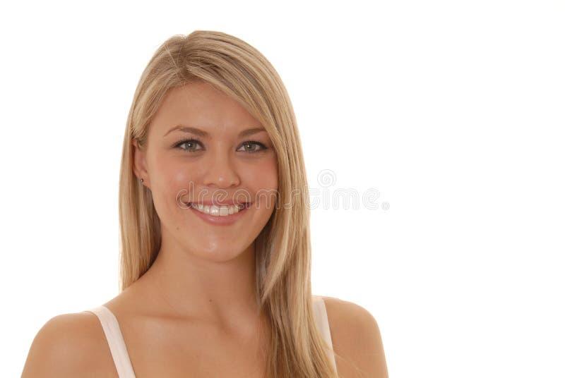 Giovane signora bella due fotografia stock