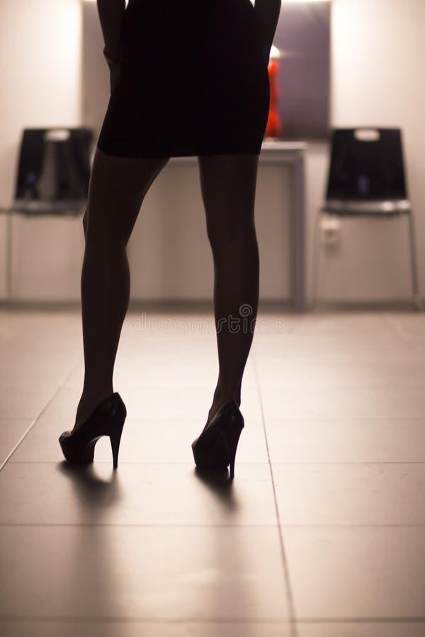 Giovane signora erotica nuda sexy immagine stock libera da diritti