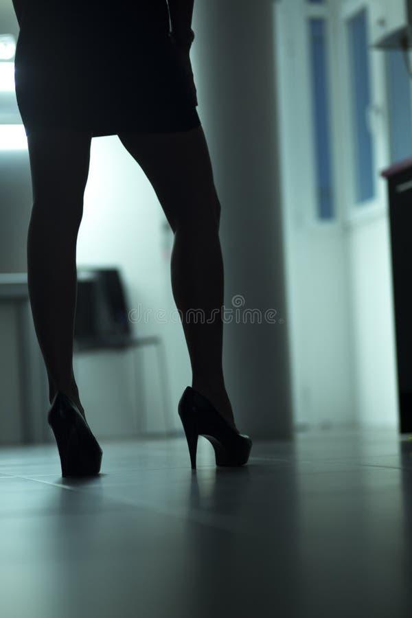Giovane signora erotica nuda sexy immagini stock libere da diritti