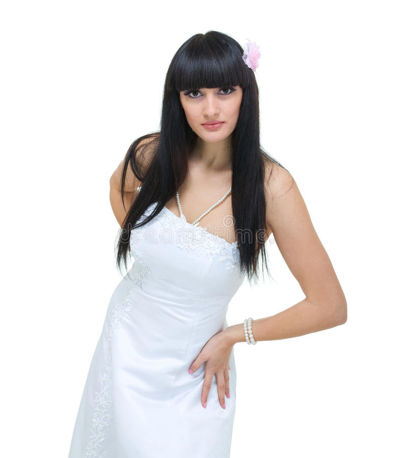 Giovane sposa attraente immagine stock libera da diritti