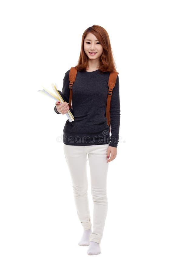Giovane studente asiatico fotografia stock