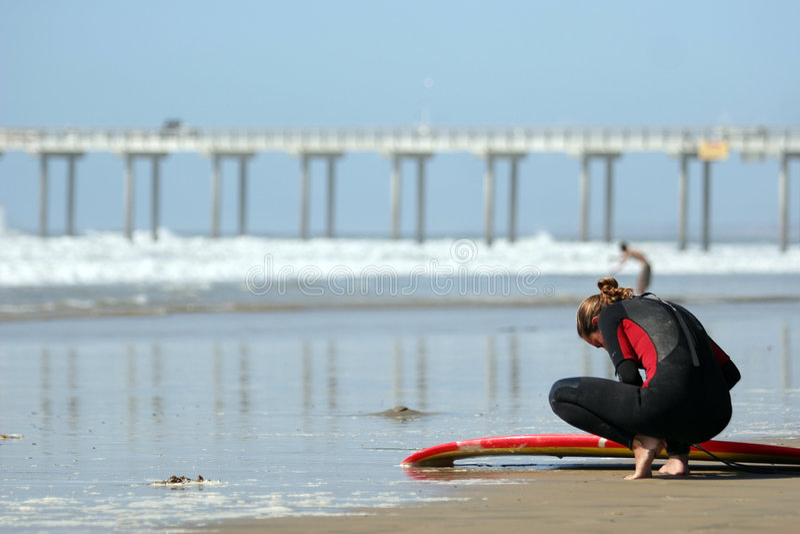 Giovane Surfista Fotografie Stock