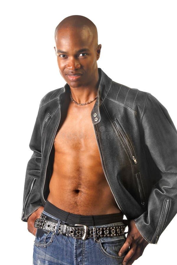 Giovane uomo Afro-American. fotografia stock