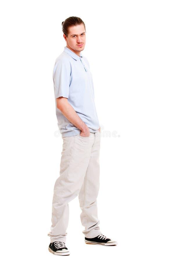 Giovane uomo bello fotografie stock