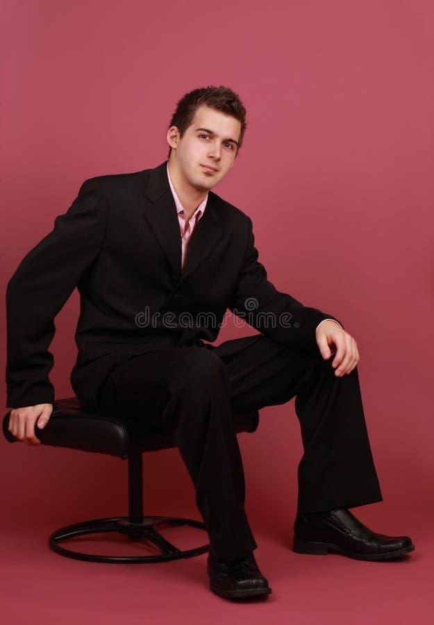Giovane uomo caucasico fotografia stock