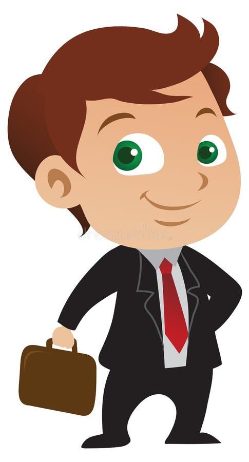 Giovane uomo d'affari illustrazione vettoriale