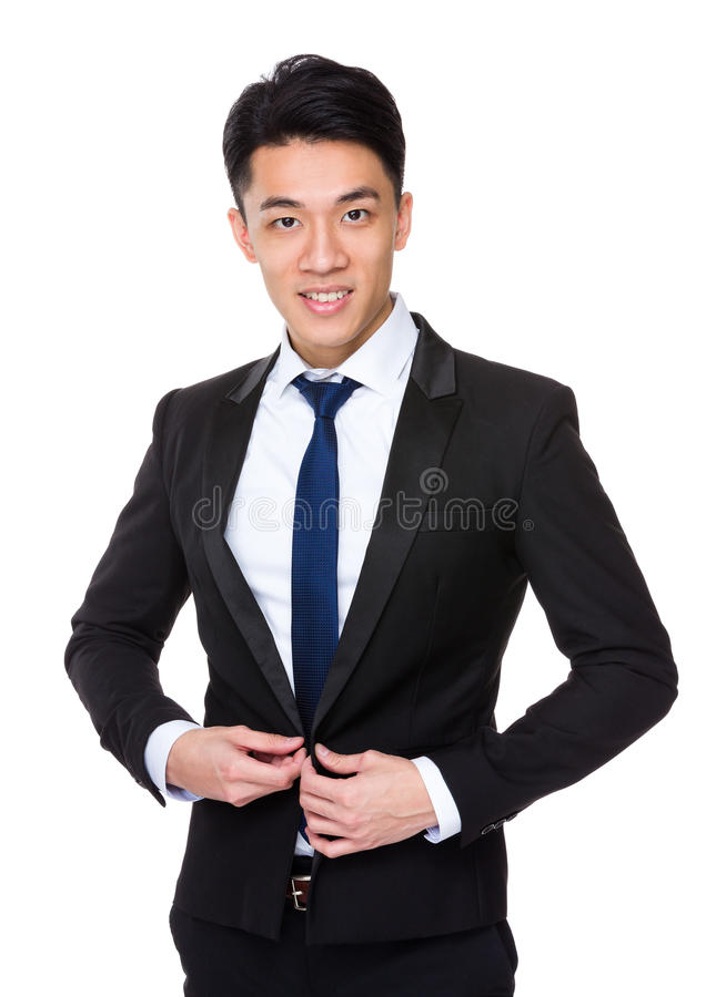 Download Giovane uomo d'affari fotografia stock. Immagine di maschio - 55355676