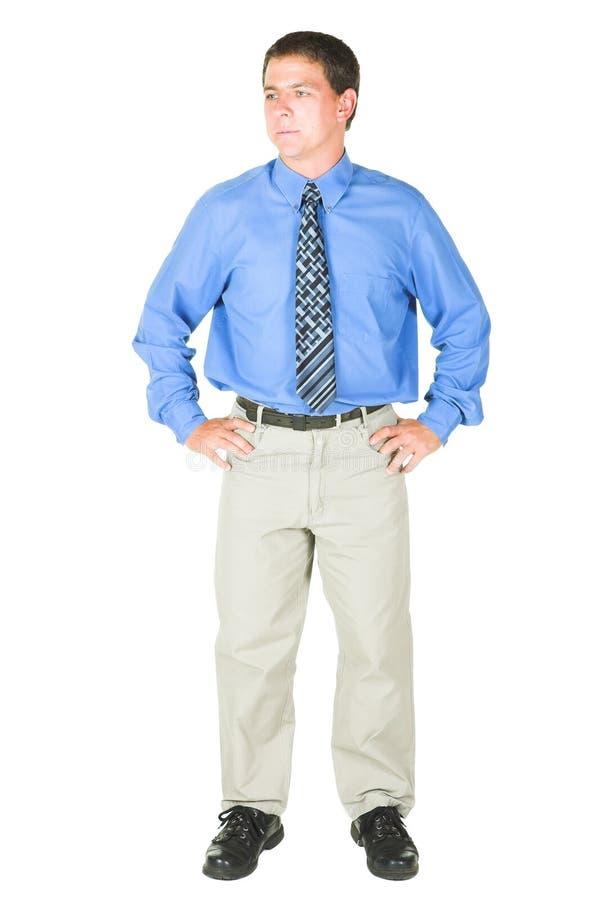 Giovane uomo d'affari adulto immagini stock libere da diritti