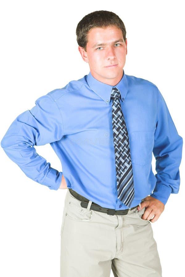 Giovane uomo d'affari adulto fotografie stock