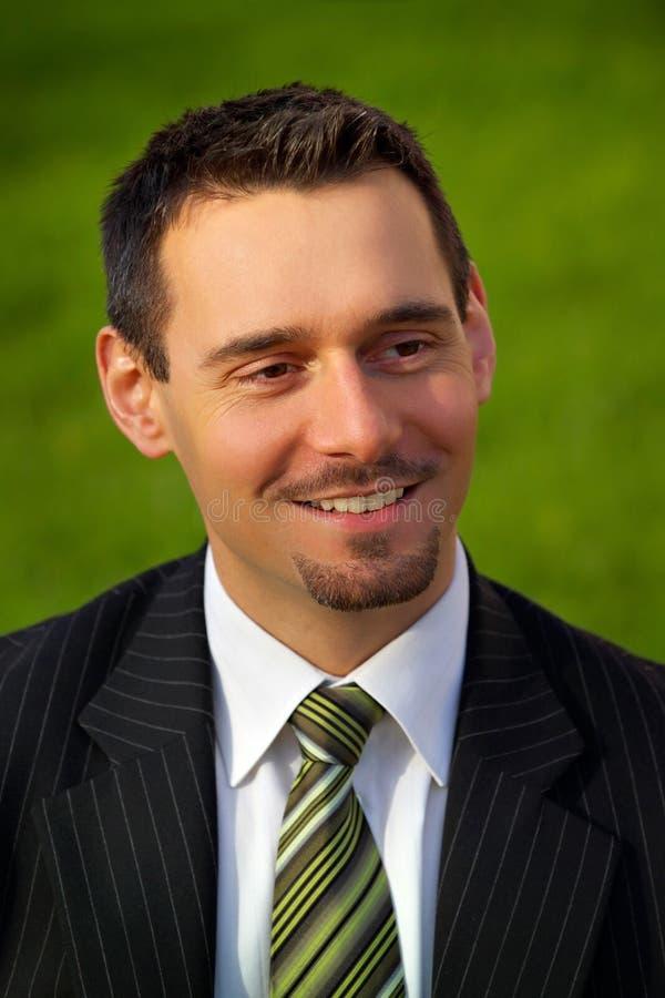 Giovane uomo d'affari attraente immagini stock libere da diritti