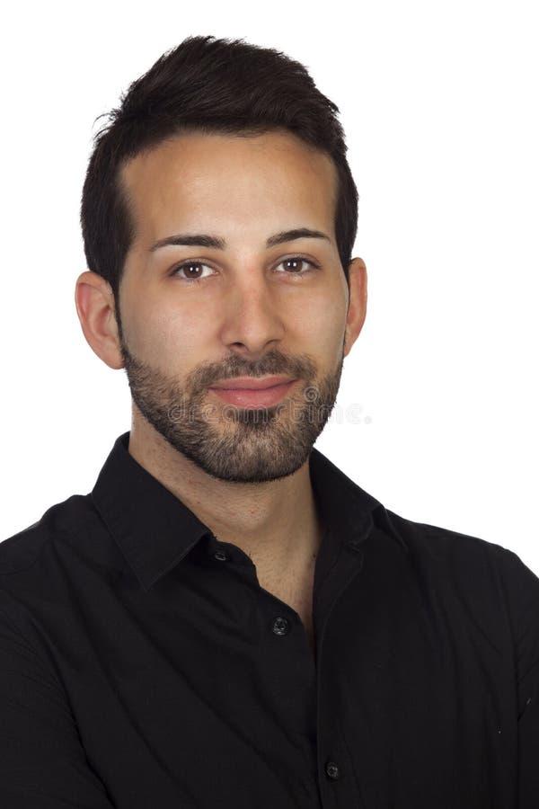 Giovane uomo d'affari barbuto fotografie stock libere da diritti